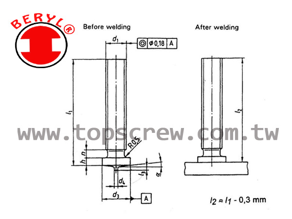 welding stud,stud welding,weld studs,welding systems,thread stud,stud,Top screw